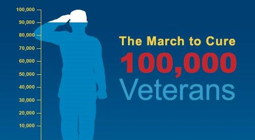 March to Cure 100K Veterans