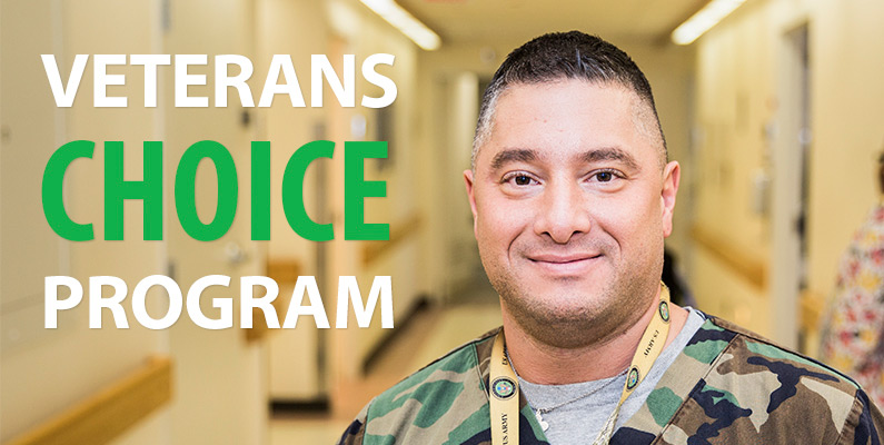 Veterans Choice Program Promo Banner