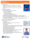 thumbnail of factsheet on Hepatitis B for Veterans