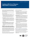 image of alternative treatments factsheet